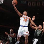 Milwaukee Bucks V New York Knicks Poster
