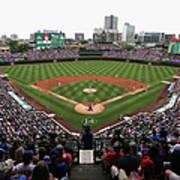 Philadelphia Phillies V Chicago Cubs Poster