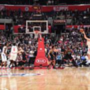 Toronto Raptors V La Clippers Poster