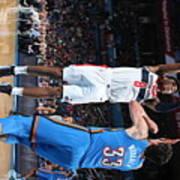 Washington Wizards V Oklahoma City Poster