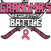 Breast Cancer Awareness Art For Warrior Women Light Dark Poster