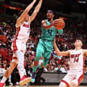 Charlotte Hornets V Miami Heat Poster