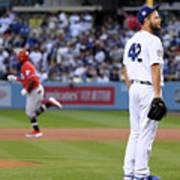 Cincinnati Reds V Los Angeles Dodgers 4 Poster