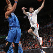 Dallas Mavericks V Oklahoma City Thunder Poster