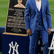 Derek Jeter Ceremony Poster
