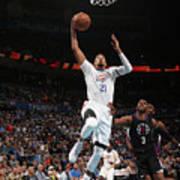 La Clippers V Oklahoma City Thunder Poster
