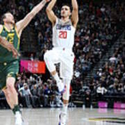 Los Angeles Clippers V Utah Jazz Poster