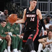 Miami Heat V Milwaukee Bucks Poster