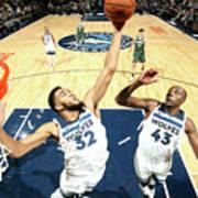 Milwaukee Bucks V Minnesota Timberwolves Poster