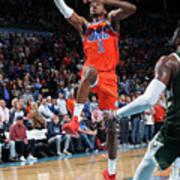 Milwaukee Bucks V Oklahoma City Thunder Poster