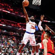 New York Knicks V Atlanta Hawks Poster