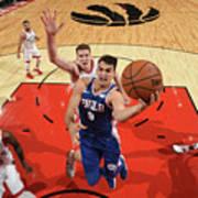 Philadelphia 76ers V Toronto Raptors Poster
