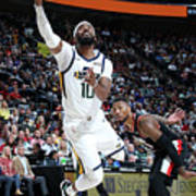 Portland Trail Blazers V Utah Jazz Poster