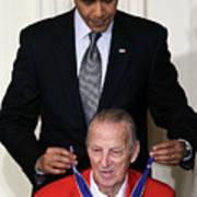 President Obama Honors Medal Of Freedom 4 Poster