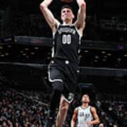 San Antonio Spurs V Brooklyn Nets Poster