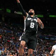 San Antonio Spurs V Oklahoma City Poster