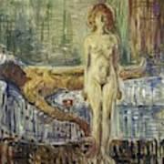 The Death Of Marat II  Poster