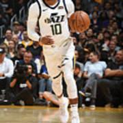 Utah Jazz V Los Angeles Lakers Poster