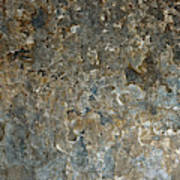 Weathered Stone Wall Poster
