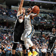Brooklyn Nets V Memphis Grizzlies Poster