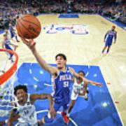 Brooklyn Nets V Philadelphia 76ers - Poster