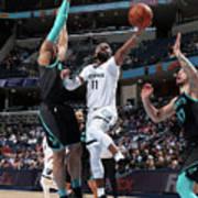 Charlotte Hornets V Memphis Grizzlies Poster