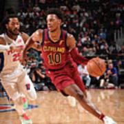 Cleveland Cavaliers V Detroit Pistons Poster