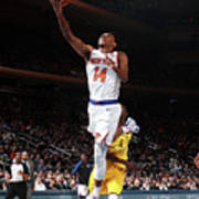 Indiana Pacers V New York Knicks Poster