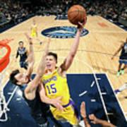 Los Angeles Lakers V Minnesota Poster