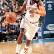 New York Knicks V Dallas Mavericks Poster