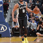 San Antonio Spurs V Golden State Poster