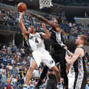 San Antonio Spurs V Memphis Grizzlies - Poster