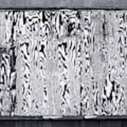 Stained Wood Siding Poster