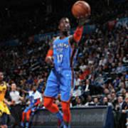 Utah Jazz V Oklahoma City Thunder Poster