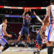 Washington Wizards V Philadelphia 76ers Poster