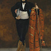 Young Man In The Costume Of A Majo  Poster