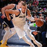 Dallas Mavericks V Denver Nuggets Poster