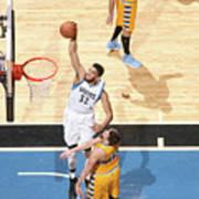 Denver Nuggets V Minnesota Timberwolves Poster