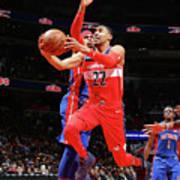 Detroit Pistons V Washington Wizards Poster
