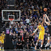 Los Angeles Lakers V Sacramento Kings Poster