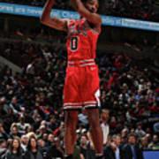 New York Knicks V Chicago Bulls Poster