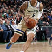 New York Knicks V Milwaukee Bucks Poster