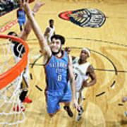 Oklahoma City Thunder V New Orleans Poster