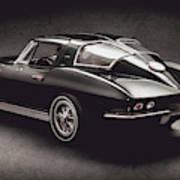63 Chevrolet Corvette Stingray Poster