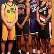 2018 Nba Rookie Photo Shoot Poster
