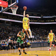 Boston Celtics V Golden State Warriors Poster