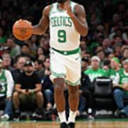 Charlotte Hornets V Boston Celtics Poster