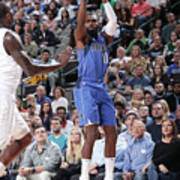 Charlotte Hornets V Dallas Mavericks Poster
