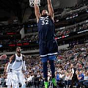 Minnesota Timberwolves V Dallas Poster