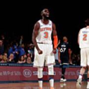 Minnesota Timberwolves V New York Knicks Poster